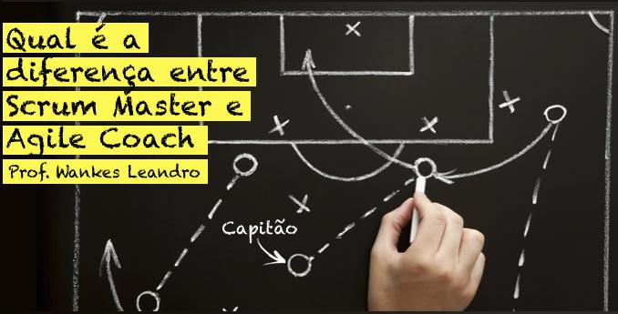 Diferença entre Scrum Master e Agile Coach, Prof Wankes Leandro