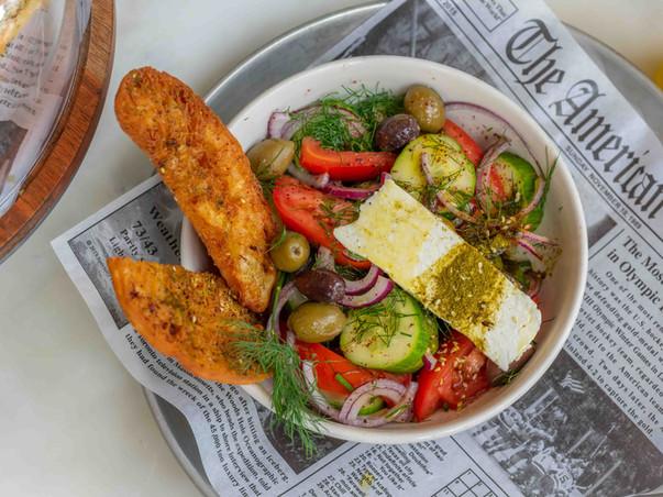 Israeli Greek Salad