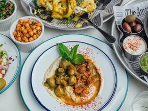 Jaffa Mushroom Hummus