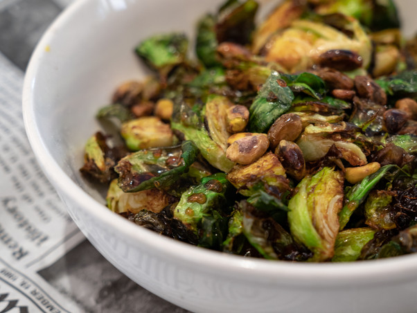 Crispy Brussles Sprouts