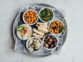 Jaffa Mezza Platter