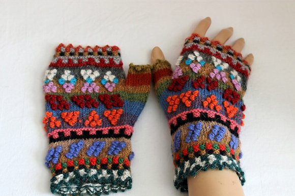 Handschuhe Pulswärmer