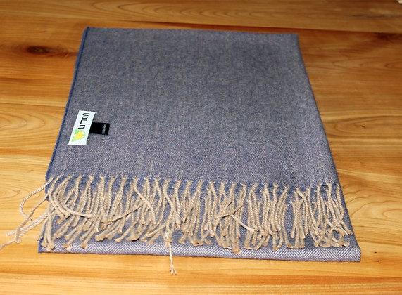 100 % Baby Alpaka Schal 60 cm.