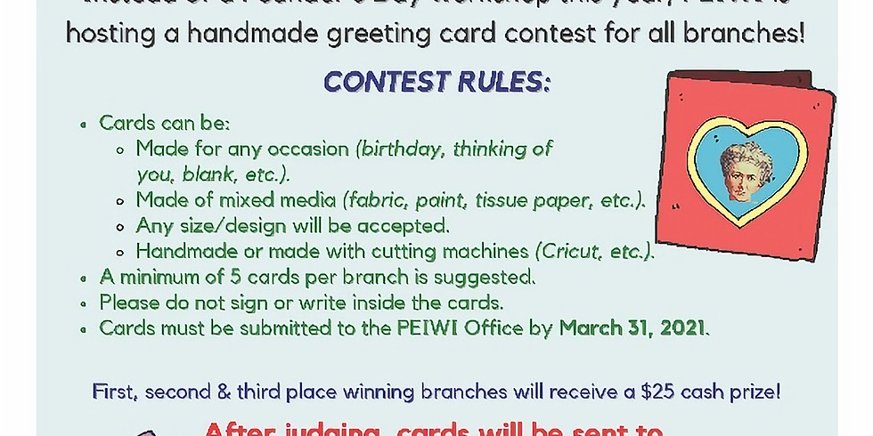 Founder's Day 2021 Card Making Contest - Extended till April 30!