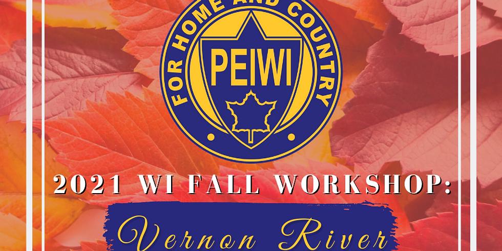 PEIWI Fall Workshop - Vernon River
