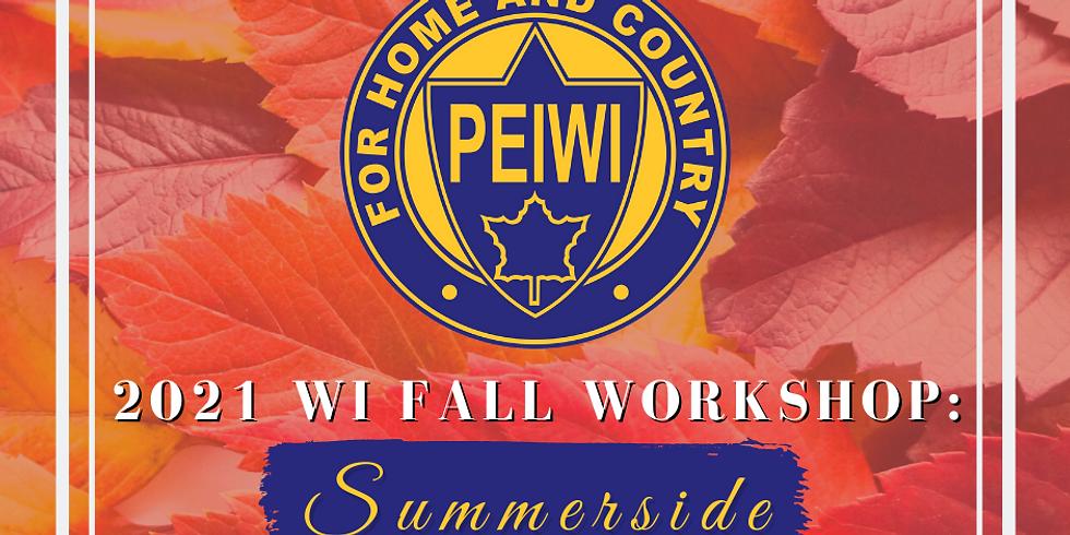 PEIWI Fall Workshop - Summerside