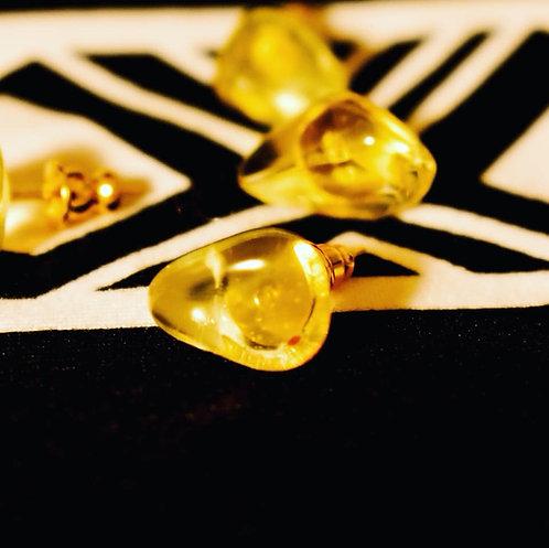 Lemon Drops stud earrings