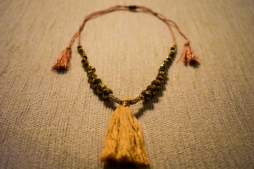 Balinese handmad all gold necklace