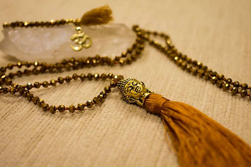 Mala beaded necklace and bracelet