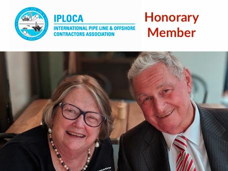 Andy Lukas made Honorary Member of IPLOCA