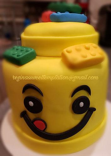 """6"""" Lego cake"""