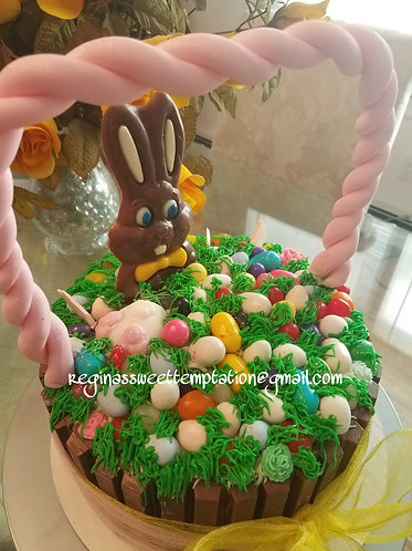 "8""Chocolate Easter cake"