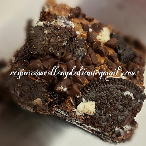 Oreo Dump Brownie