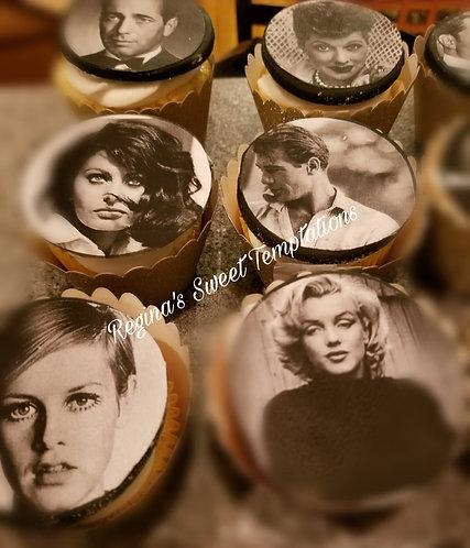 Custom image cupcakes
