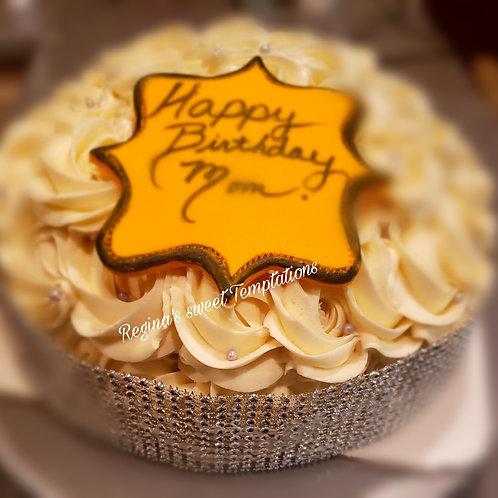 Vanilla birthday cake