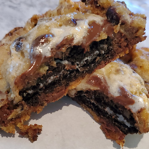 Stuff cookies (oreo and marshmallow)