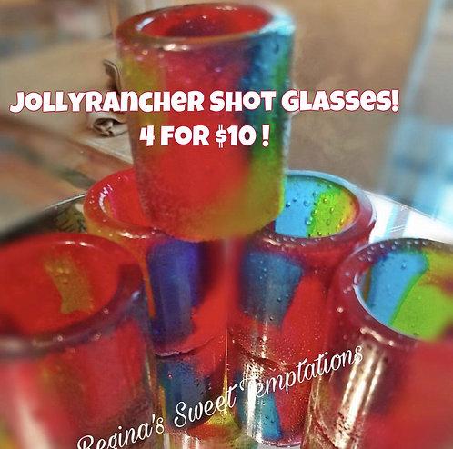 Jolly Rancher Shot Glass Set