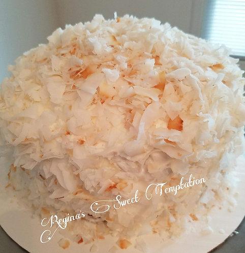 "8"" Coconut cake"