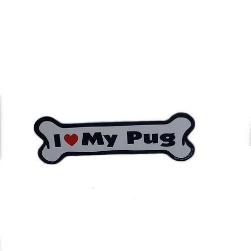 I Love My Pug