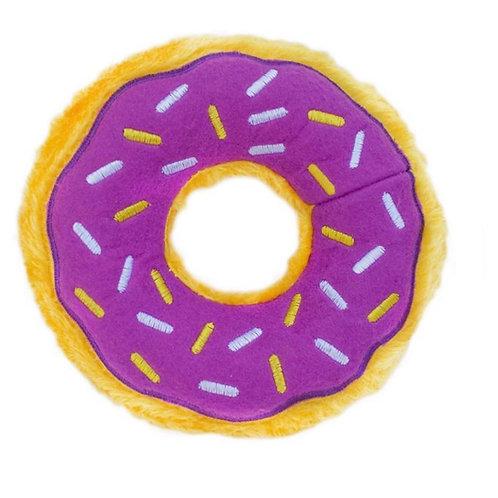 Donut Squeaker-Purple