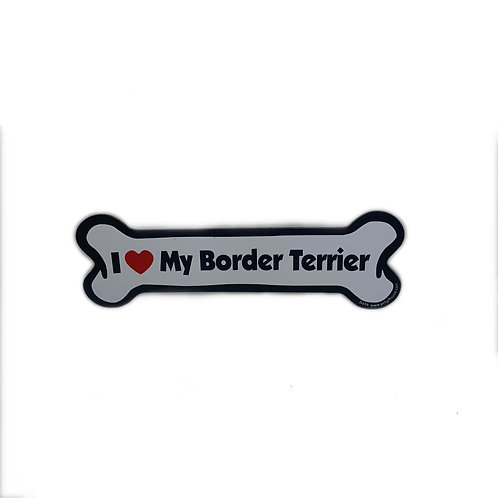 I Love My Border Terrier