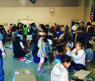 Cardboard Day for ISLA