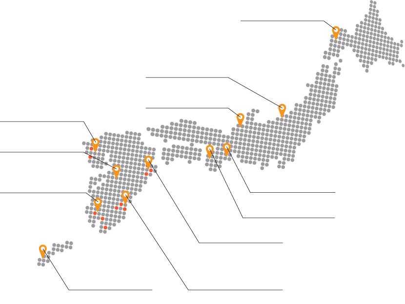 国内での発電所施工実績