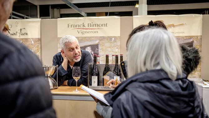 Une belle premoère journée au salon des vins de Loire 2020