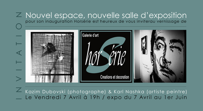 horserie saumur galerie art exposition kazim dubovski photographe nashka peintre
