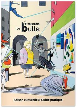 kreazim graphiste saumur programme saison culturelle  la bulle médiathèque de mazé