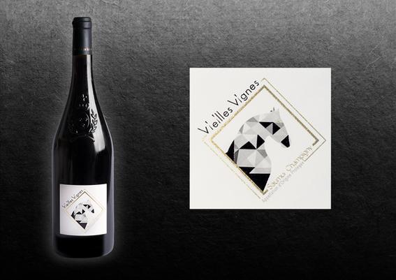 kreazim graphiste saumur les clos maurice mickael hardouin vigneron bio vielles vignes saumur champigny