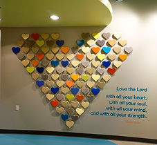 Grace Church STL GraceKids themed halways. DE|SL LLC