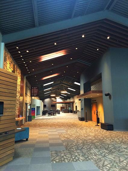 Element Church renovated concourse. DE|SL LLC