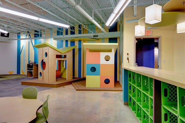 Grace Church St. Louis GraceKids themed classroom for younger children. DE|SL LLC