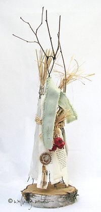 Harvest Goddess Skulptur Wild Soul Walking Wilder Natur Kunst