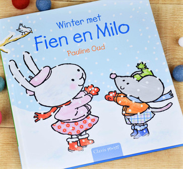 Winter met fien en Milo