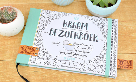 O'Baby - Kraambezoekboek