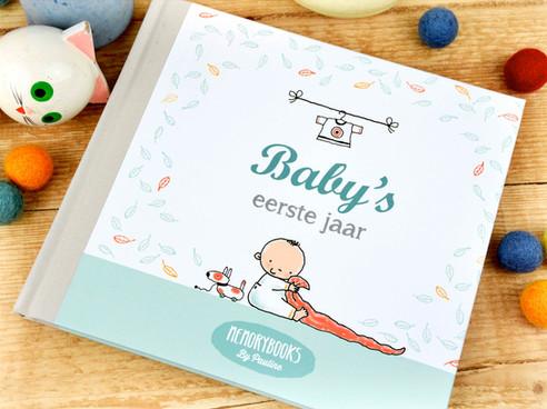 Memorybooks Baby's eerste jaar