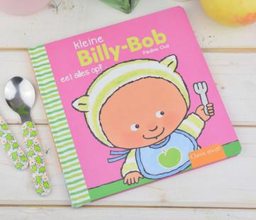 Kleine Billy-Bob eet alles op!
