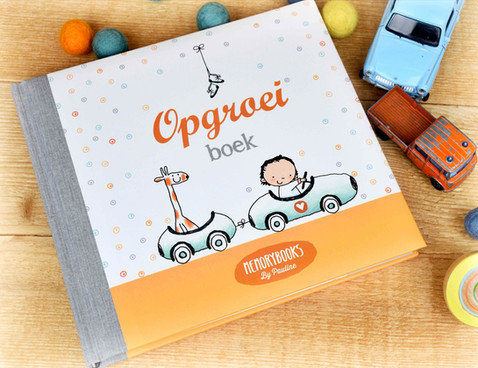 Opgroeiboek Memorybooks by Pauline