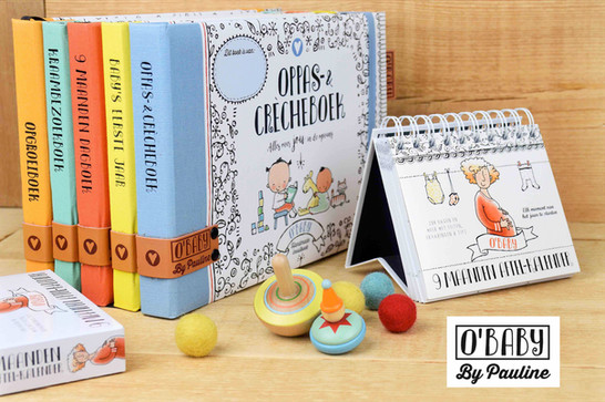 Promo foto2 Obaby serie met kalender en