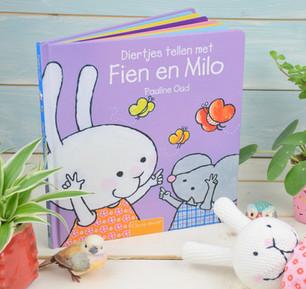 Diertjes tellen met Fien en Milo