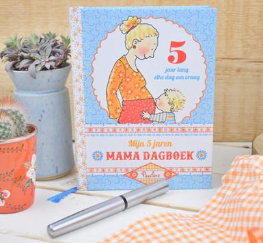 Mijn 5 jaren dagboek - Pauline Oud