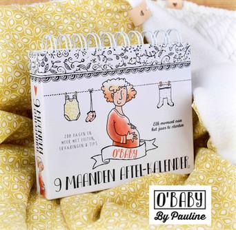 O'Baby 9 maanden aftelkalender