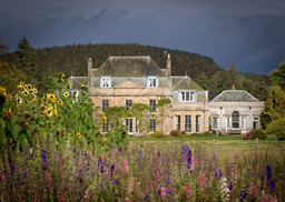 Country house, Scotland