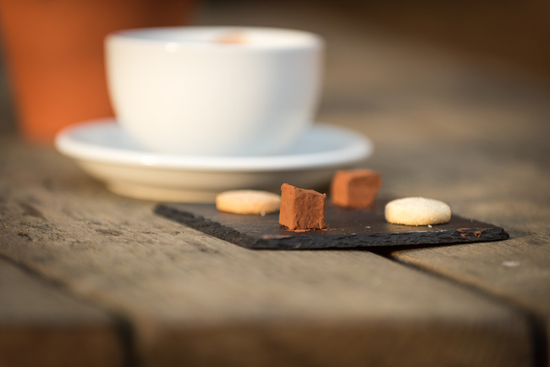 Coffee and petit fours