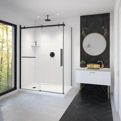 Vela Shower Doors w/ Utile