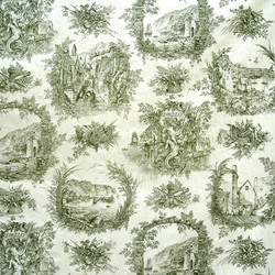 Rex Whistler's Clovelly