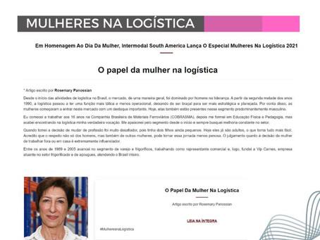 O Papel da Mulher na Logística