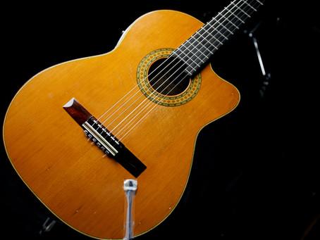 古賀氏の使用ギター、機材     6■西野春平  エレガット